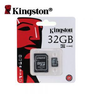 Cartão Memória Micro SD Kingston 32gb + 1 Adaptador