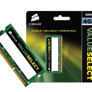 Memória Notebook Corsair 4GB CL11 DDR3 1600MHz