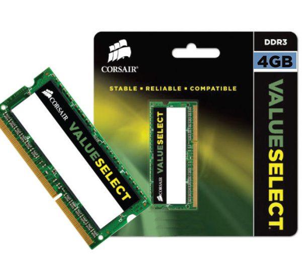 Memória Notebook Corsair 4GB CL11 DDR3 1600MHz