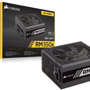 Fonte Corsair 80Plus Gold 550W Real / RM550x CP-9020090-WW