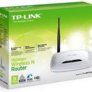 Roteador Tplink Wireless N150 Switch 4Portas WPS 1 Antena 5dBi